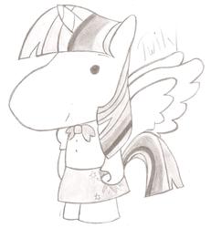 Size: 1024x1106   Tagged: safe, artist:orodney, twilight sparkle, alicorn, pony, female, g1, mare, takara pony, twilight sparkle (alicorn)