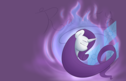 Size: 1682x1080 | Tagged: safe, artist:magic-violet, rarity, long mane, solo