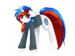 Size: 1280x960 | Tagged: safe, artist:sugarberry, oc, oc only, browser ponies, ponified, safari, solo