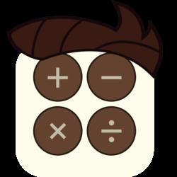 Size: 1140x1140 | Tagged: safe, artist:craftybrony, gizmo, app, calculator, icon, iphone