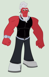 Size: 2736x4248 | Tagged: dead source, safe, artist:pivotnaza, lord tirek, equestria girls, equestria girls-ified, male, solo