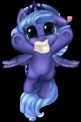 Size: 2391x3604 | Tagged: safe, artist:pridark, princess luna, alicorn, pony, bronybait, cute, daaaaaaaaaaaw, diabetes, female, filly, floppy ears, flying, glomp, heart, hnnng, hug request, incoming hug, looking at you, lunabetes, mouth hold, pridark is trying to murder us, simple background, smiling, solo, spread wings, sweet dreams fuel, transparent background, underhoof, weapons-grade cute, woona