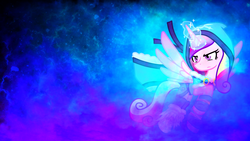 Size: 1920x1080 | Tagged: artist:he4rtofcourage, artist:sgtwaflez, crossover, crystal maiden, dota 2, princess cadance, safe, solo, wallpaper