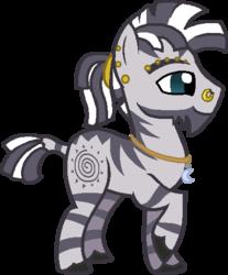 Size: 422x509 | Tagged: safe, artist:firepony-bases, artist:starryoak, zecora, zebra, raised hoof, rule 63, simple background, solo, transparent background, zircon