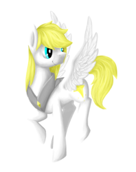 Size: 1900x2400 | Tagged: source needed, useless source url, safe, artist:eivuiee, oc, oc only, oc:guardian dreamer, armor, simple background, smiling, solo, spread wings, transparent background