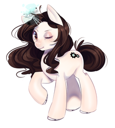 Size: 1500x1669 | Tagged: safe, artist:loyproject, oc, oc only, pony, unicorn, solo