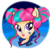 Size: 900x900 | Tagged: safe, artist:leonhernanthepony, sour sweet, equestria girls, friendship games, solo