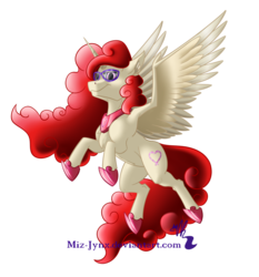 Size: 1280x1374 | Tagged: alicorn, alicornified, artist:miz-jynx, flying, glasses, older, pony, race swap, safe, solo, twist, twisticorn