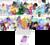 Size: 2388x2143   Tagged: safe, artist:hitandruncolorfag, applejack, derpy hooves, discord, fluttershy, lord tirek, pinkie pie, princess celestia, rainbow dash, rarity, sci-twi, señor huevos, starlight glimmer, twilight sparkle, whoa nelly, oc, oc:anon, oc:fausticorn, oc:tracy cage, bat pony, canterlot boutique, equestria girls, friendship games, make new friends but keep discord, rainbow rocks, the cutie map, twilight's kingdom, /co/nrad, /mlp/, 4chan cup, christopher poole, crossover, dan vs, doctor eggman, equestria girls logo, jackie chan, m.a. larson, mane six, midnight sparkle, mlp fim's fifth anniversary, moot, niblet, rainbow power, scruffy, secret butt fun, sonic the hedgehog (series), the hub, the ride never ends, tumblr, twilight scepter, twilight sparkle (alicorn), warhammer (game), warhammer 40k