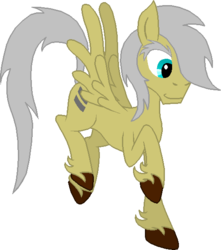 Size: 520x587 | Tagged: artist:rexlupin, equal cutie mark, eyebrows, flying, grey hair, male, oc, oc:equal oddity, oc only, pegasus, pony, safe, simple background, solo, stallion, transparent background, unshorn fetlocks