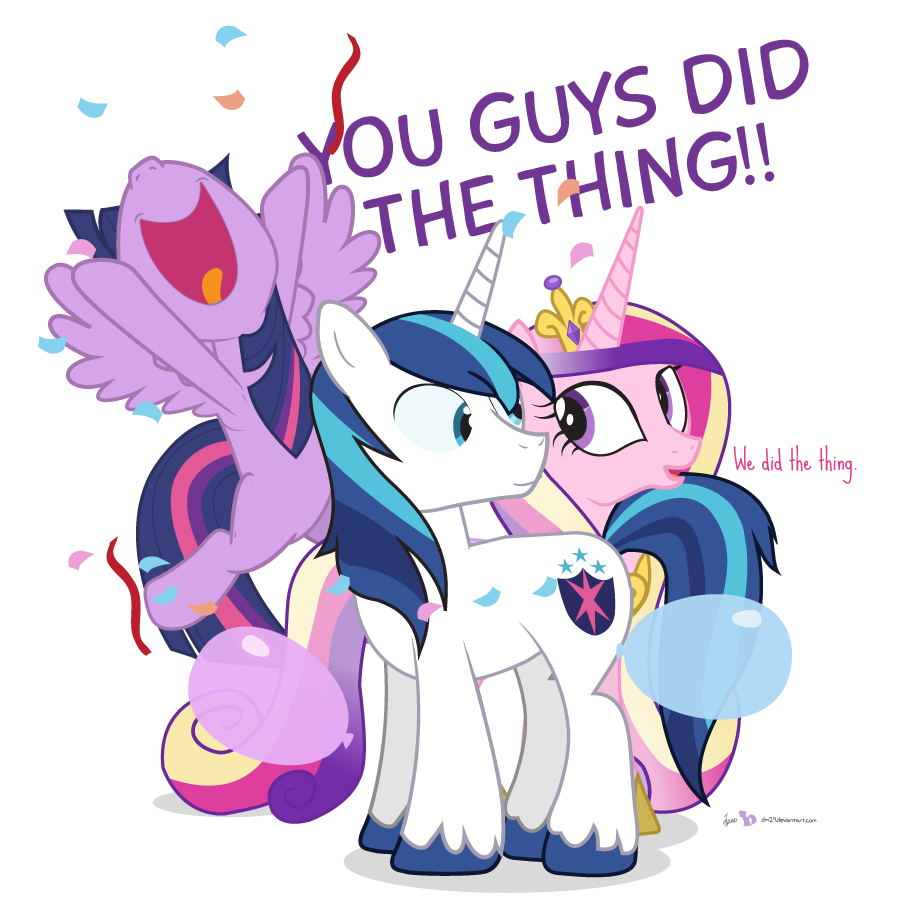 Shining armor and princess cadence sex