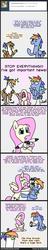 Size: 516x2687 | Tagged: safe, artist:ryuspike, fluttershy, rainbow blaze, oc, oc:rainbow feather, ask, ask-rainbowdad, comic, crying, interspecies offspring, kickstarter, magical lesbian spawn, offspring, otakushy, parent:gilda, parent:rainbow dash, parents:gildash, plushie, tumblr, tumblr comic