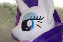 Size: 2048x1362 | Tagged: safe, artist:egalgay, rarity, irl, photo, plushie, solo