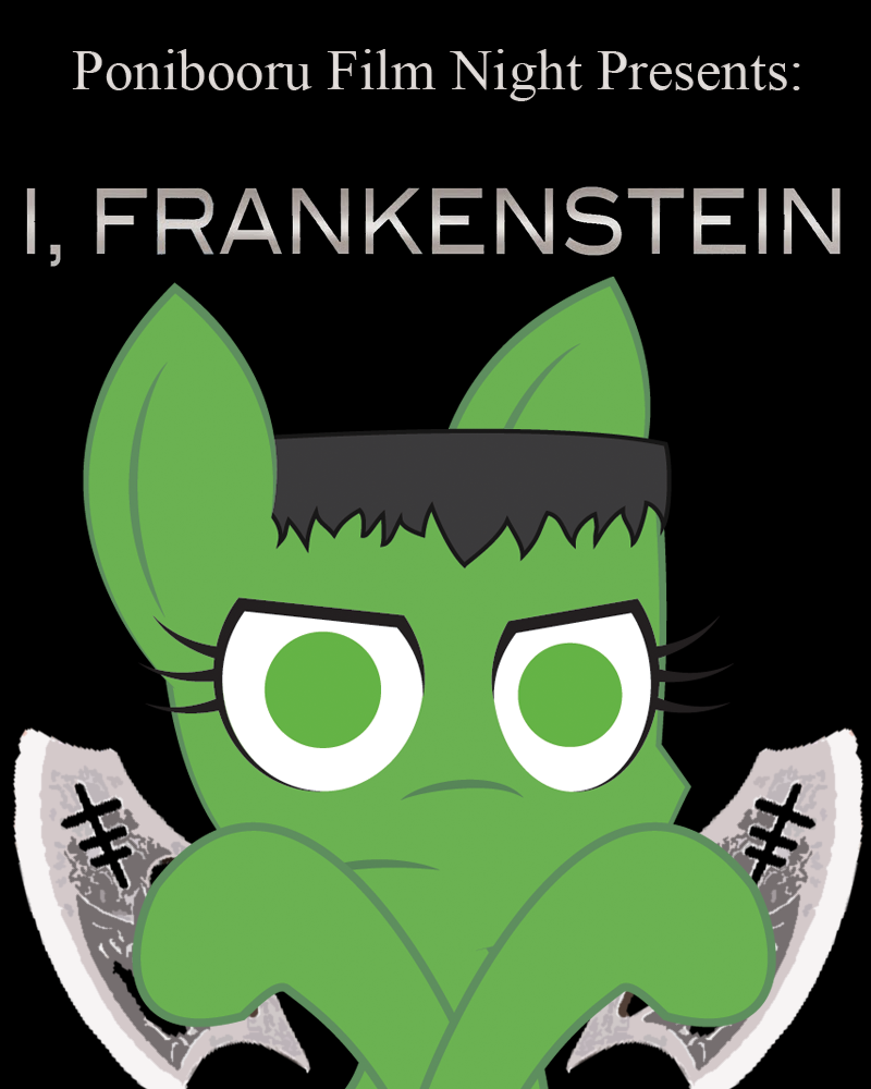 1012771 - i frankenstein, oc, oc:flicker, oc only, ponibooru film