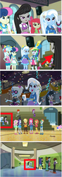 Size: 776x2200 | Tagged: background human, edit, edited screencap, equestria girls, female, friendship games, humans standing next to each other, lesbian, octavia melody, safe, screencap, shipping, tennis match, trixie, trixtavia