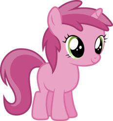 Size: 3200x3443 | Tagged: safe, artist:djdavid98, ruby pinch, pony, brotherhooves social, .ai available, .svg available, blank flank, filly, simple background, solo, transparent background, vector