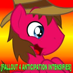 Size: 1667x1667 | Tagged: safe, artist:inkwell, oc, oc only, oc:cherry pie, fallout equestria: new pegas, fallout 4, meme