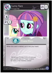 Size: 332x460 | Tagged: artist:berrypunchrules, ccg, equestria girls, fake, fluttershy, friendship games, safe, sunny flare, sunny flare is principal cinch's daughter/relative, white