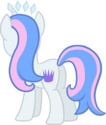 Size: 5489x6464 | Tagged: safe, artist:liggliluff, oc, oc only, oc:princess paradise, absurd resolution, plot, simple background, solo, tiara, transparent background, vector