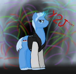 Size: 1200x1173 | Tagged: artist:short circuit, chris jericho, clothes, jacket, ponified, safe, wrestling, wwe