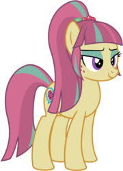 Size: 3592x4994 | Tagged: artist:gingerscribbs, crystal prep academy, crystal prep shadowbolts, earth pony, equestria girls, equestria girls ponified, friendship games, inkscape, ponified, pony, ponyscape, safe, shadowbolts, simple background, solo, sour sweet, transparent background, vector