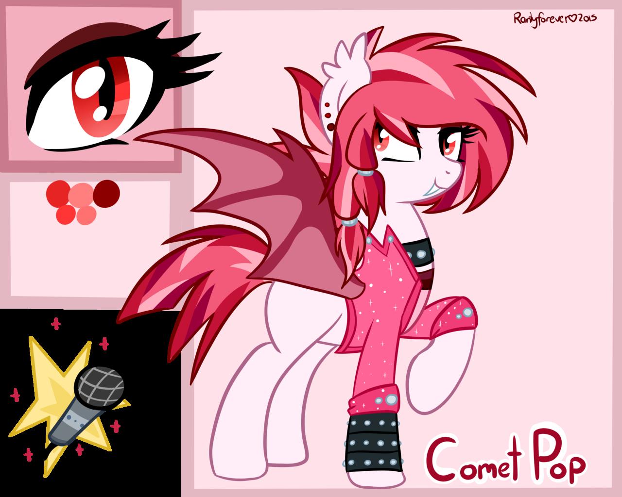 1027875 - artist:rarityforever, bat pony, bracelet, choker ...
