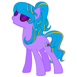 Size: 546x546 | Tagged: safe, artist:sheeppiss, oc, oc only, oc:azul cheers, earth pony, pony, base used, canterlot, cheerleader