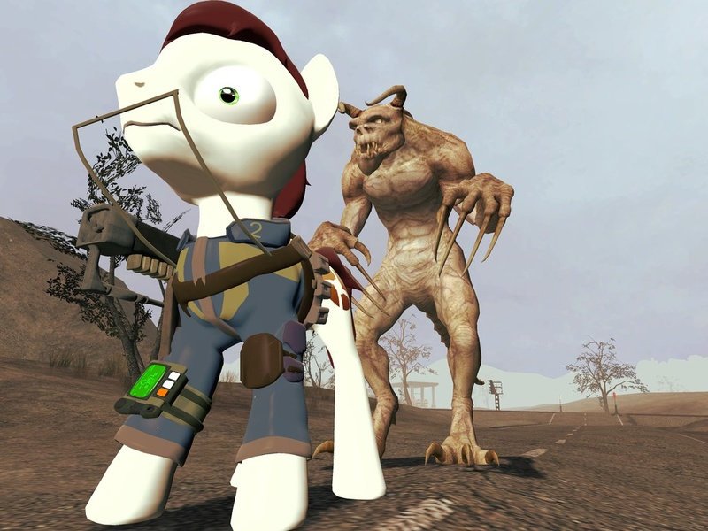 fallout deathclaw fanfiction