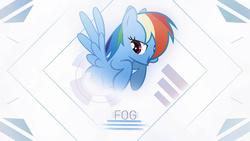 Size: 1920x1080 | Tagged: safe, artist:dj-applej-sound, artist:stormvisuals, artist:waranto, edit, rainbow dash, pegasus, pony, blurry, collaboration, female, leap, mare, solo, vector, wallpaper, wallpaper edit