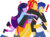 Size: 773x565 | Tagged: safe, artist:asliceoflife, artist:pixel-fairy-ich, flash sentry, microchips, sunset shimmer, twilight sparkle, equestria girls, *3*, base used, bisexual, duckface, eyes closed, flashimmer, flashlight, flashlightshimmer, flashlightshimmerchips, gang hape, gay, glomp, hape, happy, heart, hug, male, microflash, open mouth, shipping, simple background, smiling, straight, surprised, transparent background