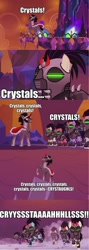 Size: 533x1499 | Tagged: safe, edit, edited screencap, screencap, king sombra, the cutie re-mark, alternate timeline, crystal, crystal empire, crystal war timeline, mind control, sombra soldier