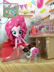 Size: 1200x1600 | Tagged: safe, boneless, pinkie pie, equestria girls, doll, equestria girls minis, toy
