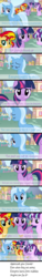 Size: 347x2297 | Tagged: safe, artist:asika-aida, starlight glimmer, sunset shimmer, trixie, twilight sparkle, equestria girls, comic, counterparts, engrish, magical quartet, twilight's counterparts