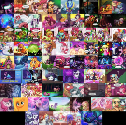 Size: 3372x3363 | Tagged: safe, artist:lumineko, apple bloom, applejack, big macintosh, candy apples, coco pommel, coloratura, diamond tiara, discord, dj pon-3, florina tart, fluttershy, frazzle rock, gilda, lemon hearts, limestone pie, marble pie, maud pie, meadow song, minuette, moondancer, moonlight raven, nightmare moon, octavia melody, party favor, pinkie pie, princess cadance, princess celestia, princess luna, rainbow dash, rarity, scootaloo, silver spoon, sonata dusk, spike, starlight glimmer, sugar belle, sweetie belle, tree hugger, tropical dream, trouble shoes, twilight sparkle, twinkleshine, vinyl scratch, griffon, amending fences, appleoosa's most wanted, bloom and gloom, brotherhooves social, canterlot boutique, castle sweet castle, crusaders of the lost mark, do princesses dream of magic sheep, equestria girls, hearthbreakers, made in manehattan, make new friends but keep discord, party pooped, princess spike (episode), rarity investigates, scare master, season 5, slice of life (episode), tanks for the memories, the cutie map, the cutie re-mark, the hooffields and mccolts, the lost treasure of griffonstone, the mane attraction, the one where pinkie pie knows, what about discord?, alternate timeline, amputee, apinkalypse pie, apocalypse dash, apocalypse maud, apple family member, augmented, camp friendship, collage, crystal war timeline, cutie mark crusaders, female, it happened, lesbian, mane six, pinkamena diane pie, prosthetic limb, prosthetic wing, prosthetics, rara, rarijack, redemption, reformed, scene interpretation, shipping, soon, the cmc's cutie marks, twidancer, twilight sparkle (alicorn)