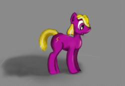 """Size: 1024x705   Tagged: safe, artist:alnairlindalwe, oc, oc only, oc:dazzling """"dodo"""" dusk, fallout equestria, fallout equestria: the fossil, roleplay in the comments, solo"""