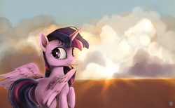 Size: 2600x1600 | Tagged: safe, artist:noctilucent-arts, twilight sparkle, alicorn, pony, crying, female, looking at you, mare, solo, teary eyes, twilight sparkle (alicorn)