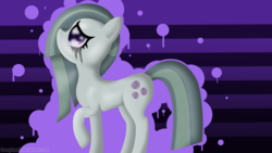 Size: 3840x2160 | Tagged: safe, artist:bronyhands, marble pie, crying, solo