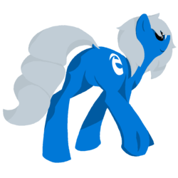 Size: 1024x1024 | Tagged: safe, artist:expression2, oc, oc only, oc:edge, browser ponies, microsoft, microsoft edge, plot, solo