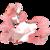 Size: 1024x1024 | Tagged: safe, artist:rannarbananar, oc, oc only, oc:lotus plaza, original species, pond pony, eyes closed, solo