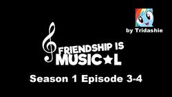 Size: 1280x720 | Tagged: safe, artist:tridashie, rainbow dash, friendship is musical, musical, youtube link