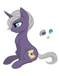 Size: 622x800 | Tagged: safe, artist:hippykat13, oc, oc only, pony, unicorn, sitting, solo
