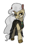 Size: 700x860 | Tagged: artist:enma-darei, clothes, dress, earth pony, mayor mare, pony, safe, simple background, solo, transparent background