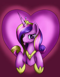 Size: 3300x4200 | Tagged: safe, artist:grennadder, princess cadance, :p, heart eyes, solo, tongue out, wingding eyes
