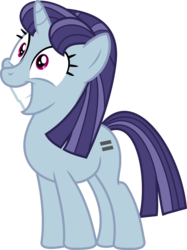 Size: 1500x2009 | Tagged: safe, artist:charity-rose, blueberry frosting, pony, unicorn, the cutie map, background pony, crying inside, equal cutie mark, equalized mane, simple background, solo, stepford smiler, transparent background, vector