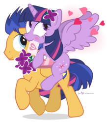 Size: 705x810 | Tagged: safe, artist:dm29, flash sentry, twilight sparkle, alicorn, pegasus, pony, adventure in the comments, best ship, blushing, bouquet, box, box of chocolates, brony history, carrying, comment event horizon, comments locked down, comments more entertaining, cute, cutie mark, daaaaaaaaaaaw, derail in the comments, derpibooru history, derpibooru legacy, diasentres, eternal thread, featured image, female, flashlight, flower, flower in hair, folded wings, food, happy, heart, hearts and hooves day, history lessons in the comments, hoof hold, legendary, letter, lilacs, looking back, looking up, male, mare, mouth hold, ponies riding ponies, raised hoof, riding, shipping, signature, simple background, skeletor in the comments, smiling, song in the comments, spread wings, stallion, straight, the eternal thread, the former eternal thread, the image formerly known as the eternal thread, the image that started zeb's eternal feud with sirbumpaous, thread war, transparent background, trotting, twiabetes, twilight sparkle (alicorn), valentine's day, valentine's day card, vector, wall of tags, wings, you guys are awesome and i love you