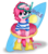 Size: 5500x6300 | Tagged: safe, artist:korchristmas, pinkie pie, pony, absurd resolution, bipedal, cute, donut, flippers, floaty, goggles, inner tube, simple background, snorkel, solo, summer, transparent background