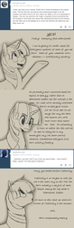 Size: 1024x3135 | Tagged: safe, artist:tlatophat, twilight sparkle, pony, unicorn, alternate universe, ask, comic, sketch, sketchbook twilight, solo, tumblr