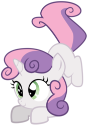Size: 6513x9420 | Tagged: absurd res, artist:apony4u, cute, diasweetes, safe, simple background, solo, sweetie belle, transparent background, vector