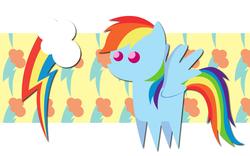 Size: 2560x1600   Tagged: safe, artist:alicehumansacrifice0, artist:miketheuser, artist:ooklah, rainbow dash, cutie mark, pointy ponies, solo, wallpaper