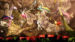 Size: 1024x576 | Tagged: safe, artist:sourcerabbit, applejack, fluttershy, pinkie pie, rainbow dash, rarity, twilight sparkle, alicorn, breezie, pony, 3d, applebreezie, breezie pie, breeziefied, cute, diabreezies, female, flutterbreez, flying, mane six, mare, rainbow breez, rarbreez, source filmmaker, species swap, sweet dreams fuel, twilight sparkle (alicorn)
